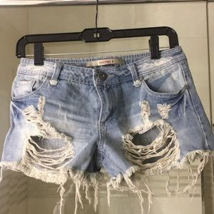 Highway jeans shorts sz 3